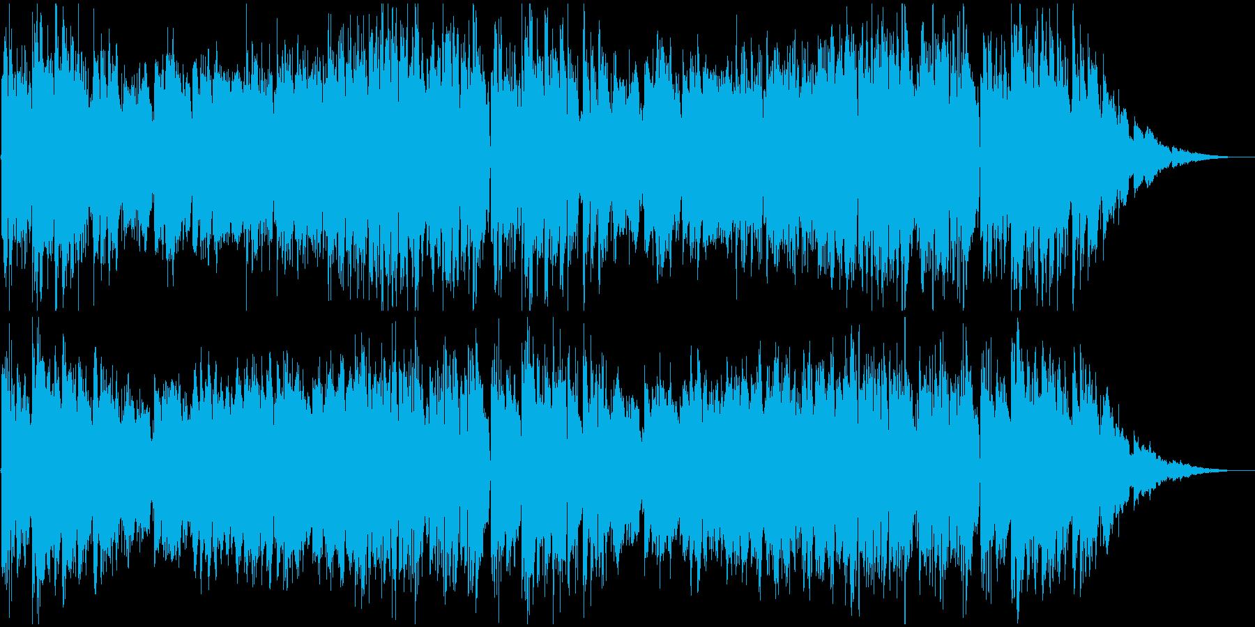 穏やかな日常を描くアコギ中心のインスト曲の再生済みの波形