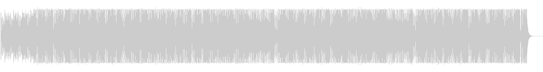 Rhythmic and pop BGM like jumping's unreproduced waveform
