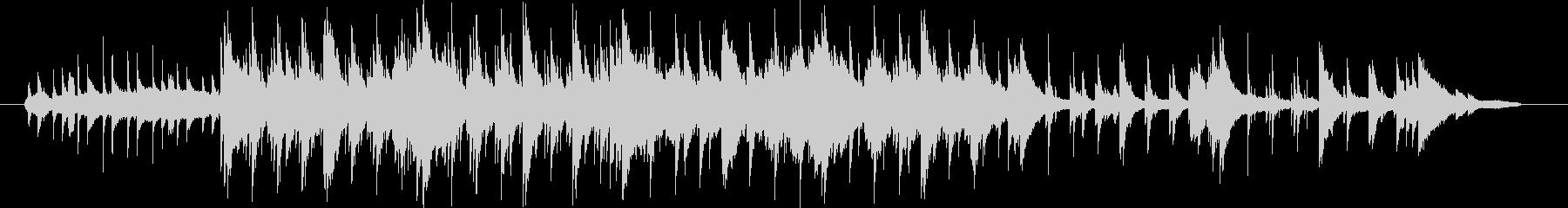 ピアノ曲です。すこし暗めのヒーリングミ…の未再生の波形