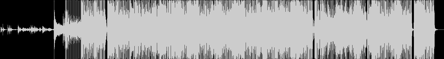 `70s風クラシックロックの未再生の波形