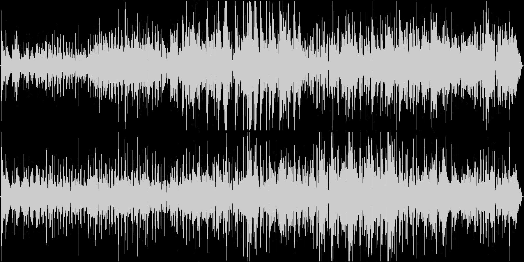 標準ジャズ。ブルースとスイング。の未再生の波形