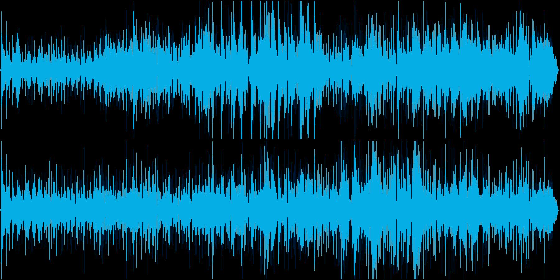 標準ジャズ。ブルースとスイング。の再生済みの波形