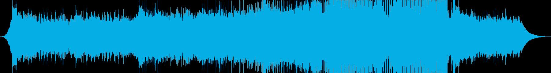 EDM・爽やか・綺麗・高揚感の再生済みの波形