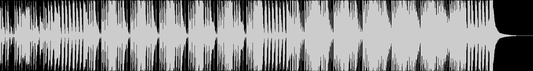ブラス、スラップベース、ファンクロックの未再生の波形