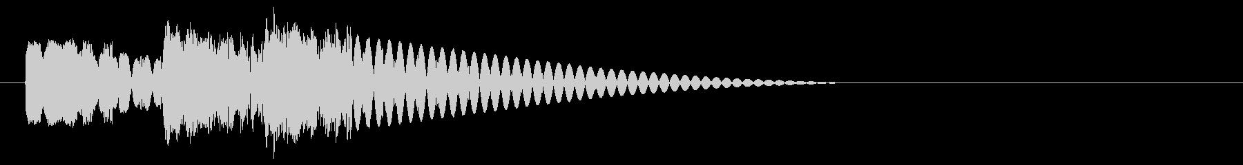 ドドドン 射撃音2 ゲームなどの未再生の波形