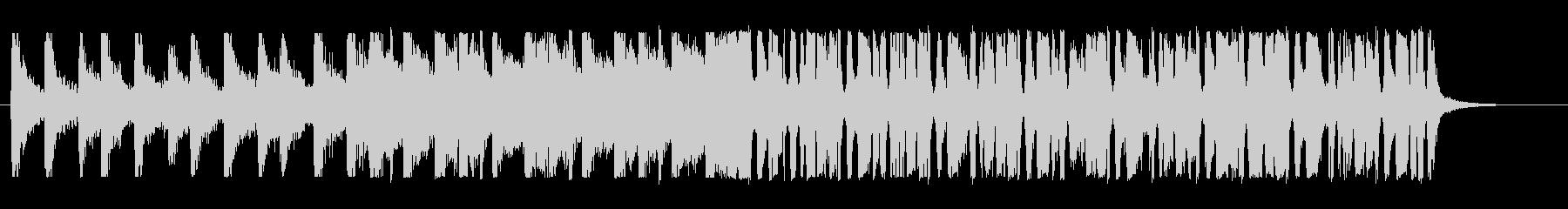 楽観的なファンク の未再生の波形