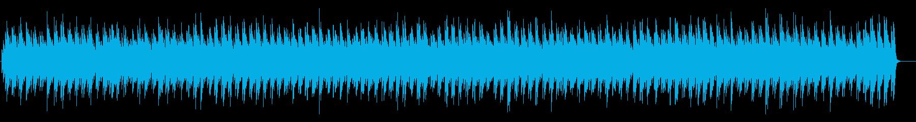 クールでミニマルなテクスチャーの再生済みの波形