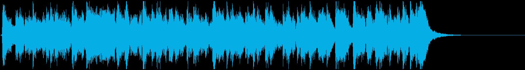 ゴキゲンなファンキージャム◆15秒CM用の再生済みの波形