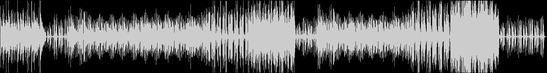アコべとピアノのカフェ風ボッサの未再生の波形