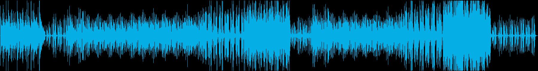 アコべとピアノのカフェ風ボッサの再生済みの波形