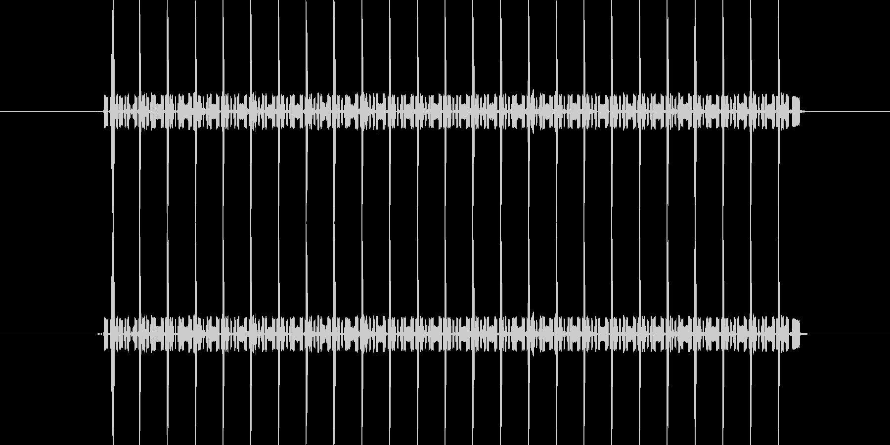 間違い時の電子音/長めの未再生の波形