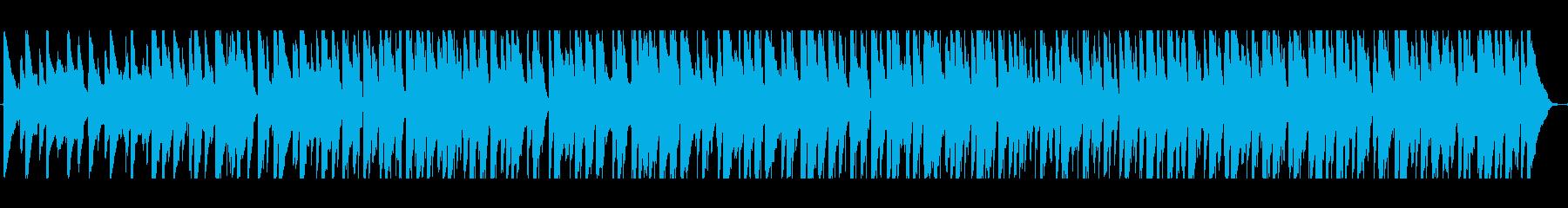 ウクレレ、暖かいアコースティックギ...の再生済みの波形