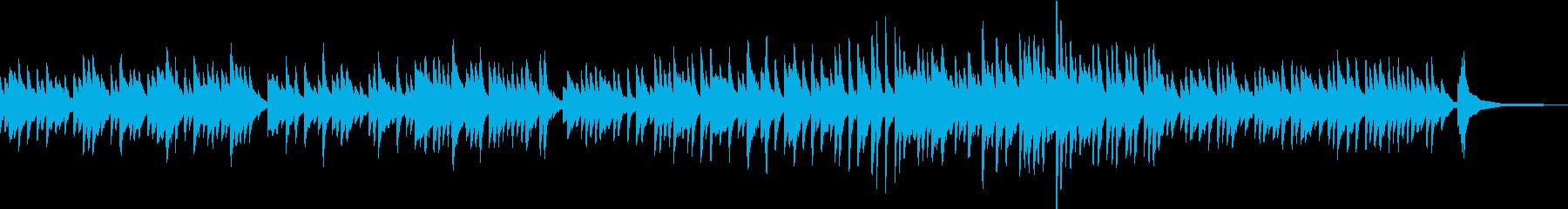 しっとり切なく物悲しいピアノソロの再生済みの波形