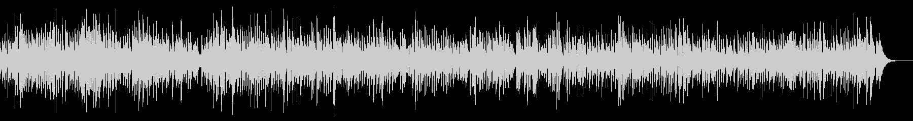 ピアノ料理系ボサノバYouTubeカフェの未再生の波形
