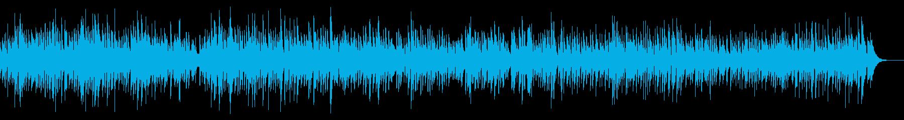 ピアノ料理系ボサノバYouTubeカフェの再生済みの波形