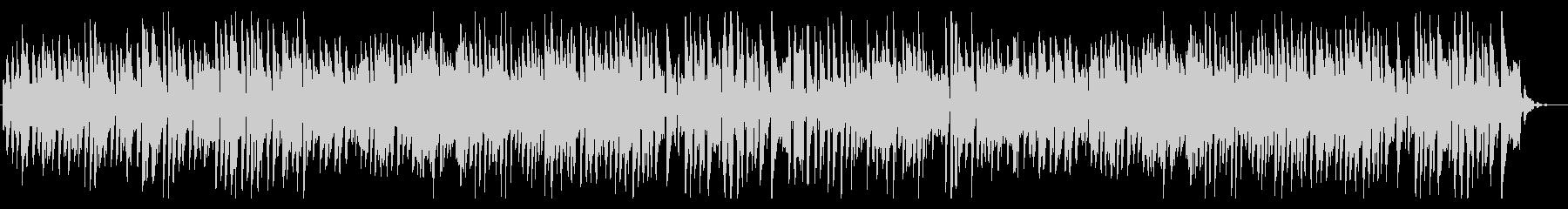ファンキーでクールなブルースピアノソロ!の未再生の波形