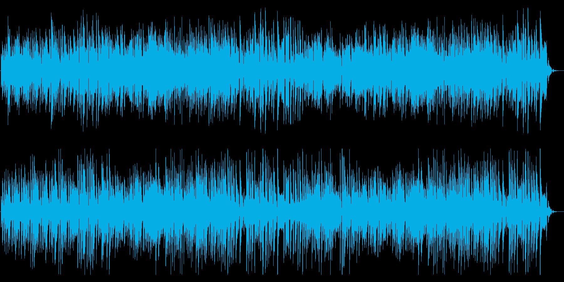 ファンキーでクールなブルースピアノソロ!の再生済みの波形