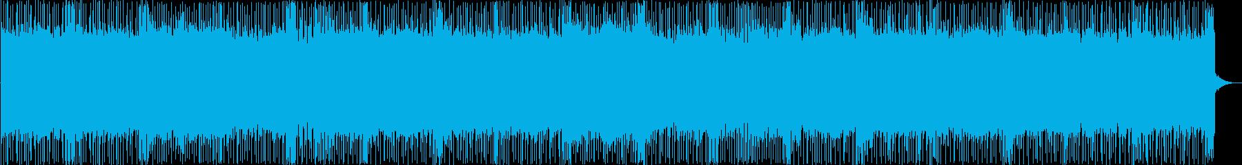 ロック アクション ハイテク 緊迫...の再生済みの波形