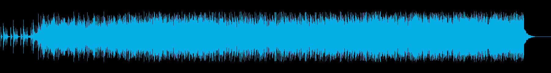 宇宙空間にはこれ!テクノポップの再生済みの波形