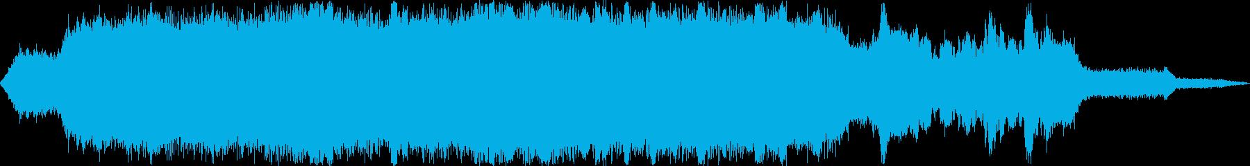 道路工事4  騒音 現場 重機 ステレオの再生済みの波形