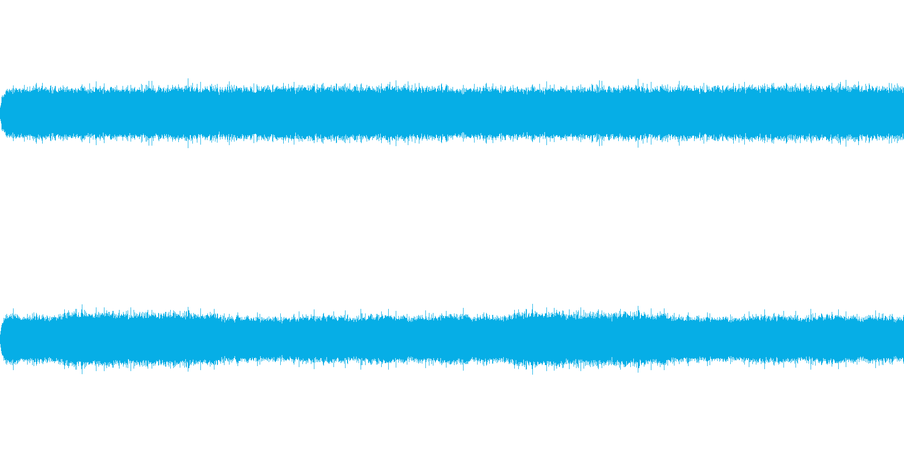 滝音~中くらいの滝 UP1【生録音】の再生済みの波形
