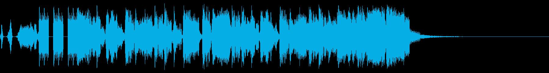 BMXストリートの再生済みの波形