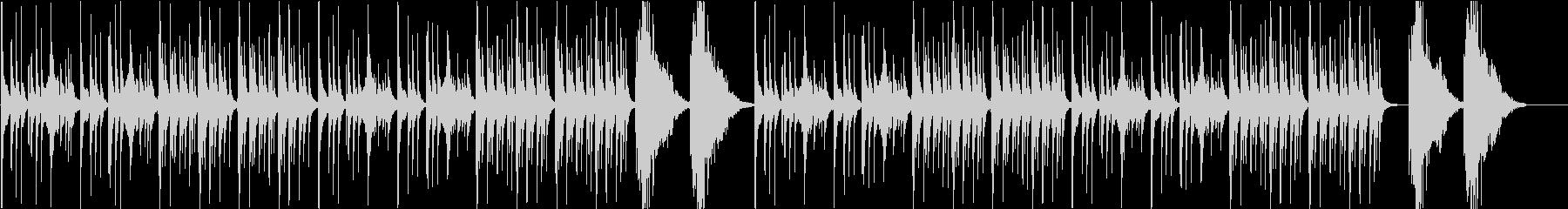 【和風】琴と三味線の美しいBGMの未再生の波形