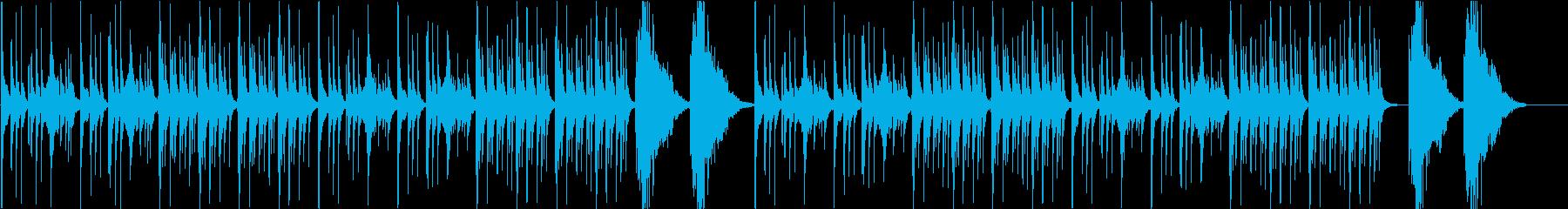 【和風】琴と三味線の美しいBGMの再生済みの波形