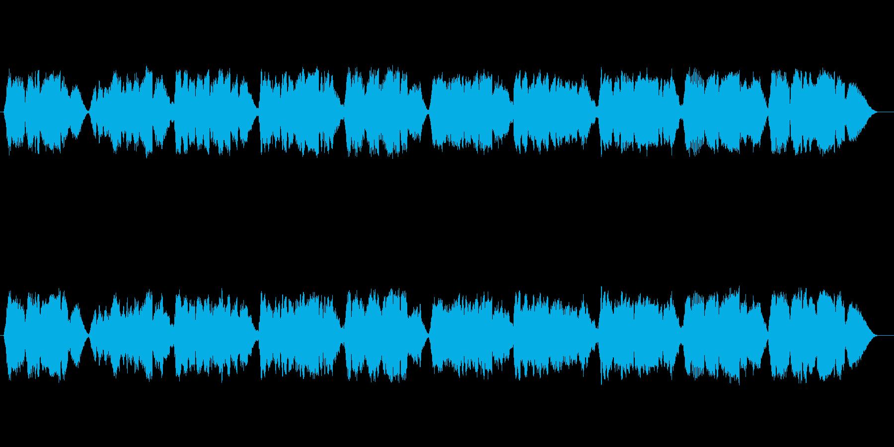 無伴奏ヴァイオリンによる童謡「ふるさと」の再生済みの波形