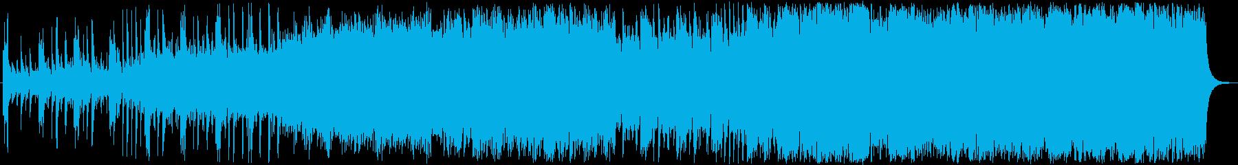明るく前向きなクラシック風音楽の再生済みの波形