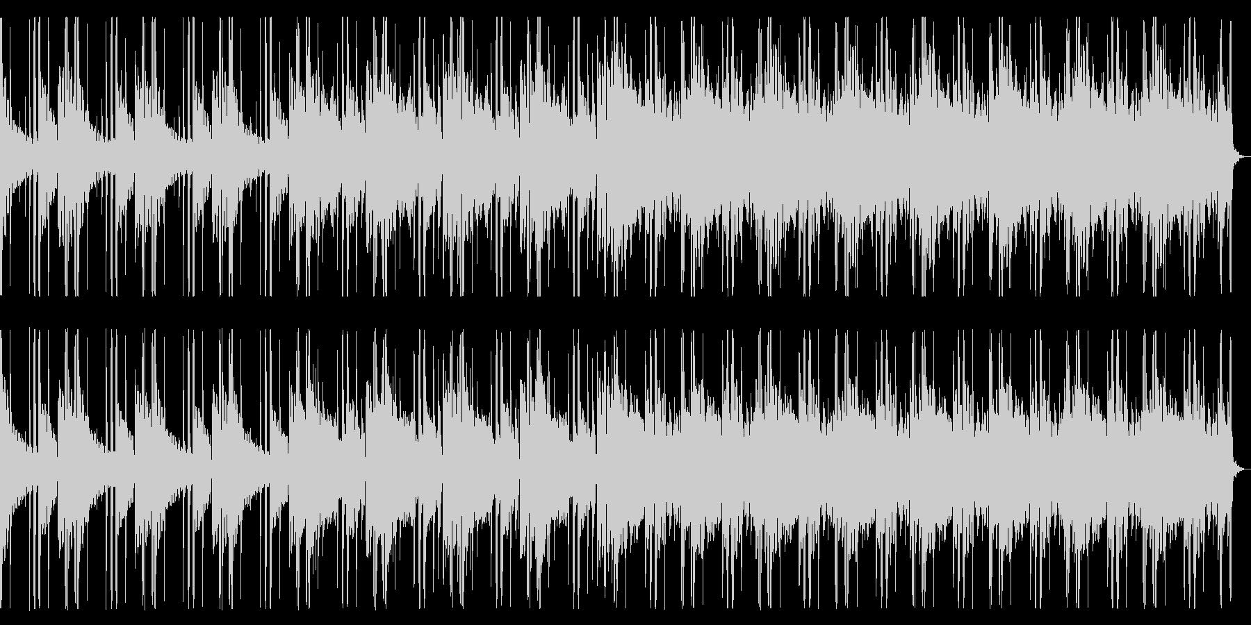 解放されるようなBGM_No631_2の未再生の波形