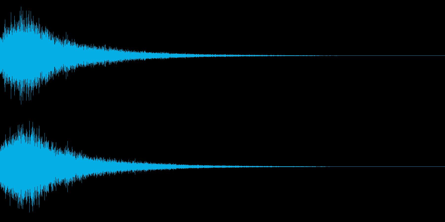 シャキーン キラーン☆強烈な輝きに!29の再生済みの波形