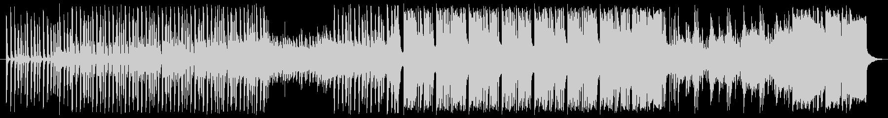 クールなテクノオーケストラの未再生の波形