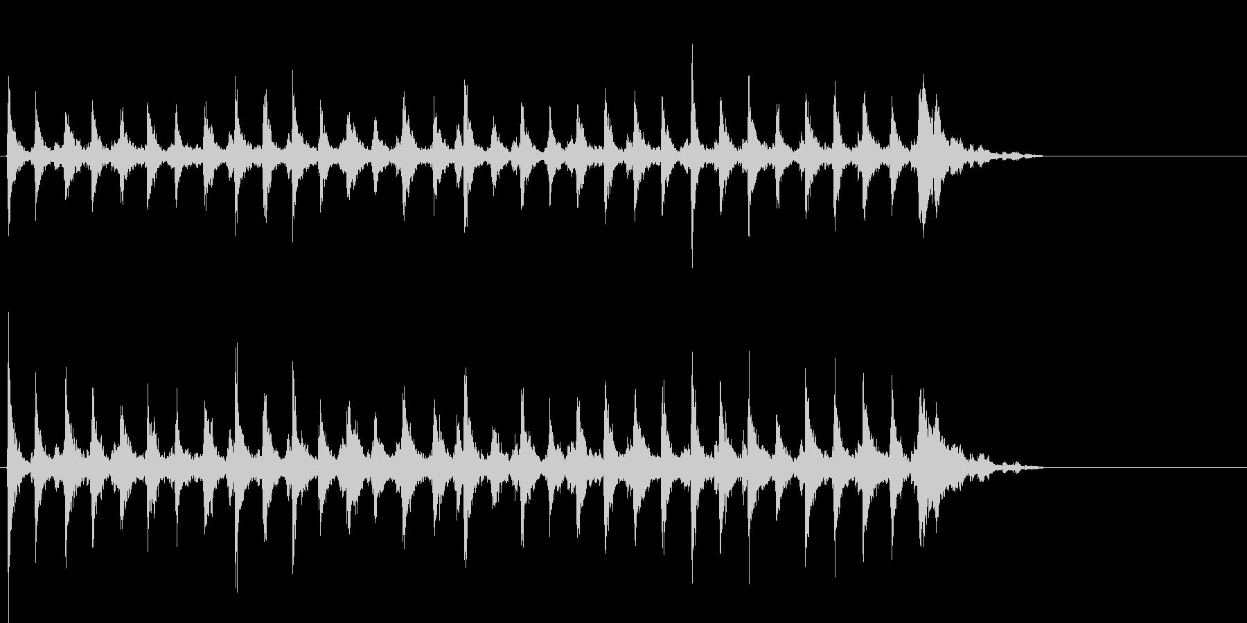Xmasに最適トナカイベルのループ音02の未再生の波形