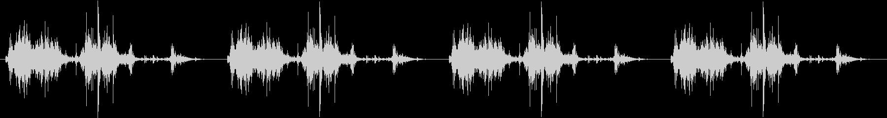 【生録音】ロボットのおもちゃ 歩く音 1の未再生の波形