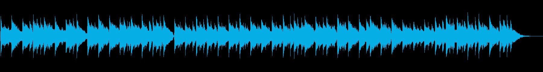 ほのぼのした雰囲気のフォークミュージックの再生済みの波形