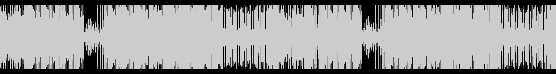 淡々としたテクノEDM(ループ可)の未再生の波形