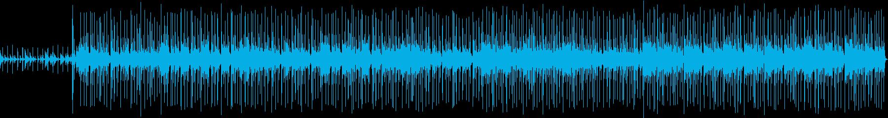 爽やかで優しいウクレレポップスの再生済みの波形