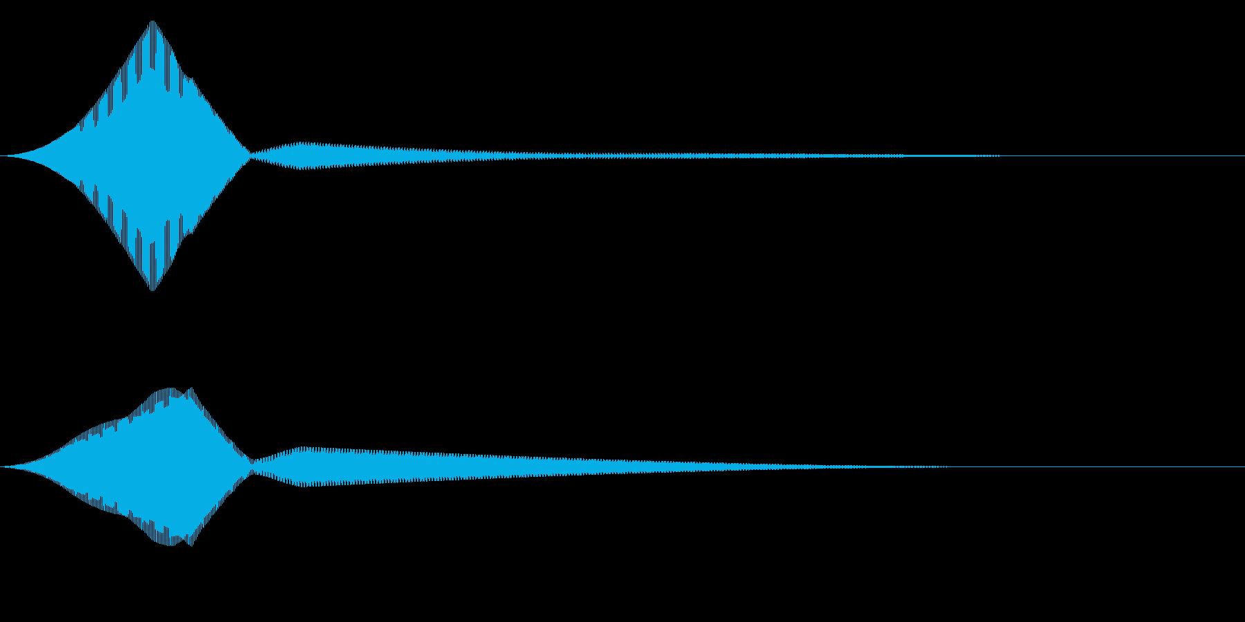 FutureSF 生体認証 開錠音の再生済みの波形