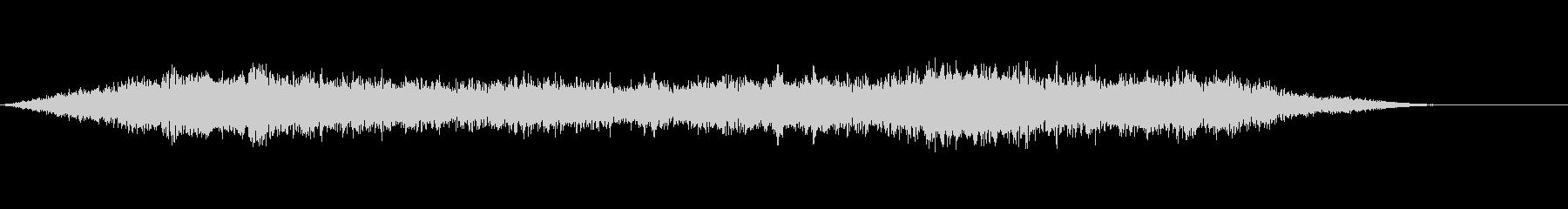 音楽:不気味な低僧聖歌隊ドローン。の未再生の波形