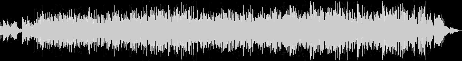 ピアノのお洒落でクラッシーなボサノバの未再生の波形