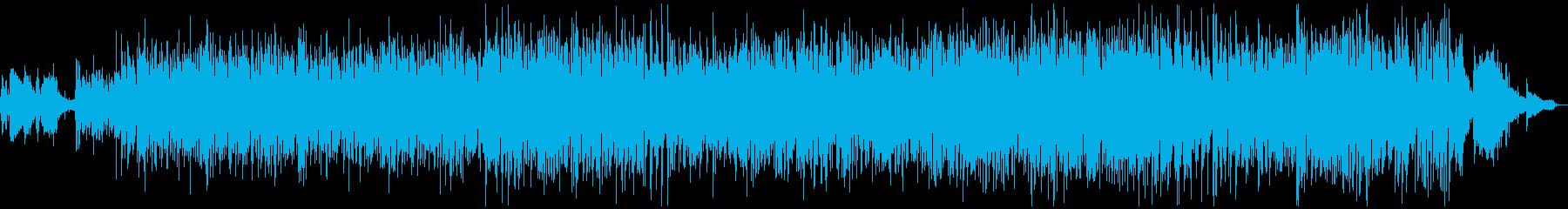 ピアノのお洒落でクラッシーなボサノバの再生済みの波形