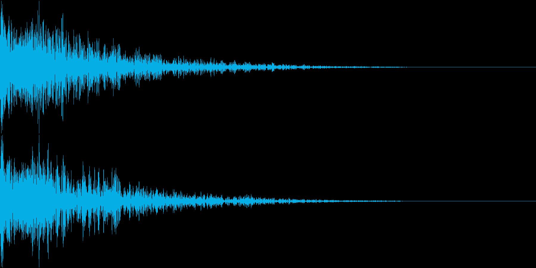 ロボット 合体 ガシーン キュイン 10の再生済みの波形