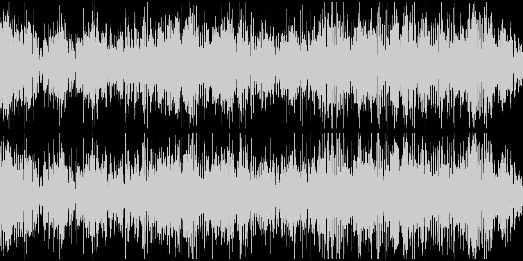素敵なおしゃれ感のジャズ ※ループ仕様版の未再生の波形