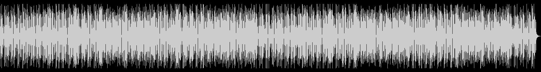 軽快で楽しいレトロゲーム風電子音の未再生の波形