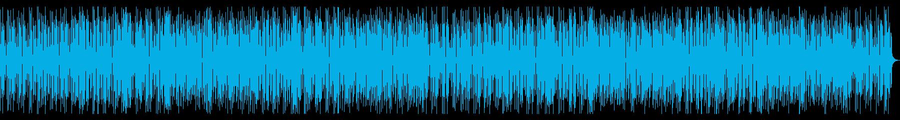 軽快で楽しいレトロゲーム風電子音の再生済みの波形