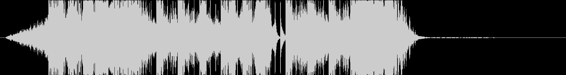 DUBSTEP クール ジングル160の未再生の波形