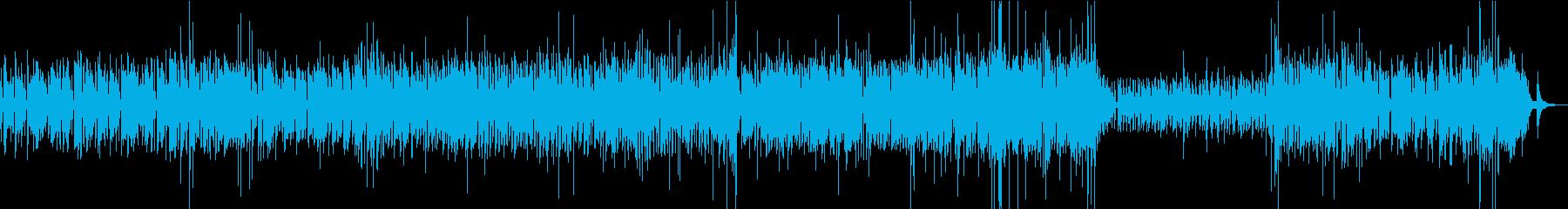 4ビートJazzのインスト曲。ライブ風。の再生済みの波形