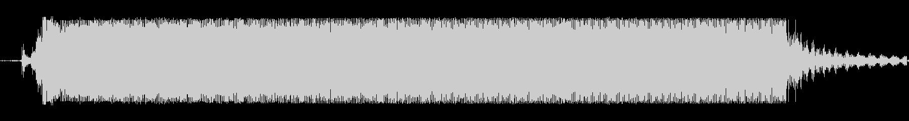 ギターメタルパワーコードzsの未再生の波形