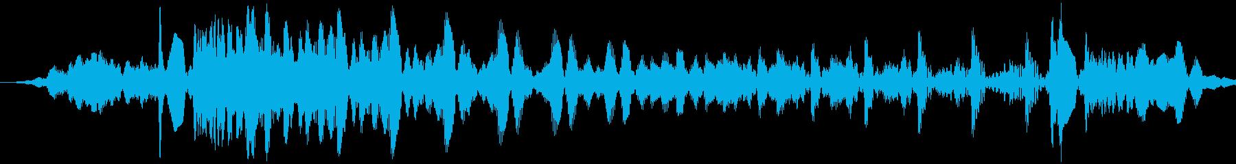 宇宙コンピューターのショートスプリ...の再生済みの波形